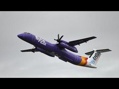 Κατάρρευση για τη βρετανική αεροπορική εταιρεία Flybe