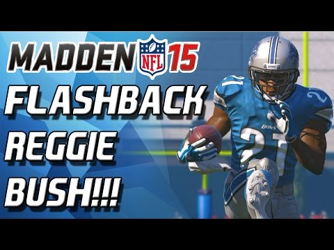 Bush - Madden 15 - Madden 15 Ultimate Team! Flashback Reggie Bush debut/teaser! Enjoy! PSN = CULLENBURGER ***Check Out CyberPowerPC!: http://goo.gl/NU5kBJ Use coupon code