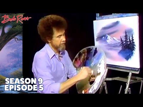 Bob Ross - Winter Oval (Season 9 Episode 5)