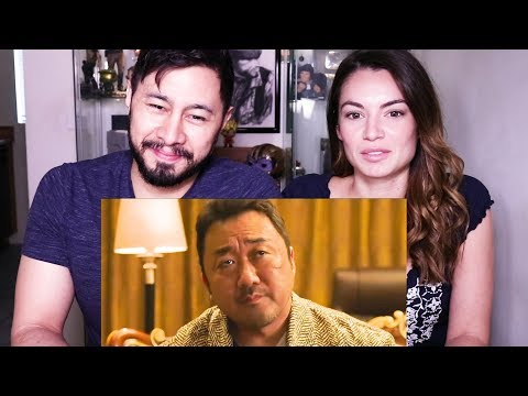 THE GANGSTER, THE COP, THE DEVIL | Dong-seok Ma | Trailer Reaction!