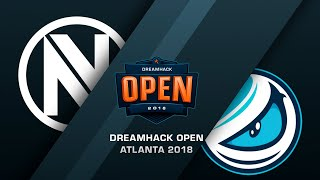 Envy vs Luminosity - DreamHack Open Atlana 2018 - bo3, game 2 - de_overpass [Enkanis]