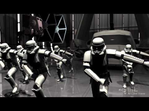 В далёкой далёкой галактике штурмовики танцуют под «Party Rock Anthem»
