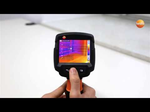 testo 870 - Step 10 - Viewing your thermal image