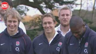 England rugby team Invictus moment for Sport Relief