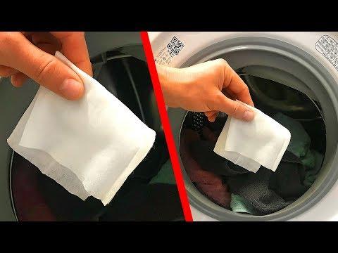 Dicas preciosas para a lavagem de roupas