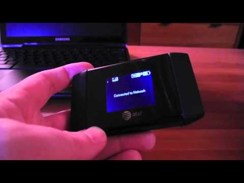 AT&T Elevate 4G mobile hotspot with LTE reception