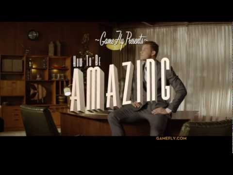 GameFly - Be Amazing Commercial