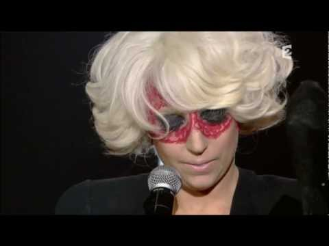 Lady GaGa French TV 2009 Eh Eh, Ragtime, Poker Face