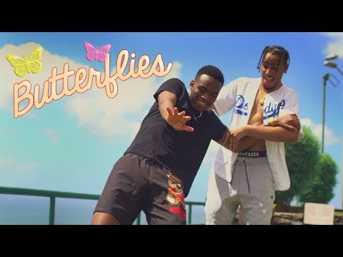 AJ TRACEY FT. NOT3S | BUTTERFLIES | MUSIC VIDEO @ajtracey @Not3sofficial
