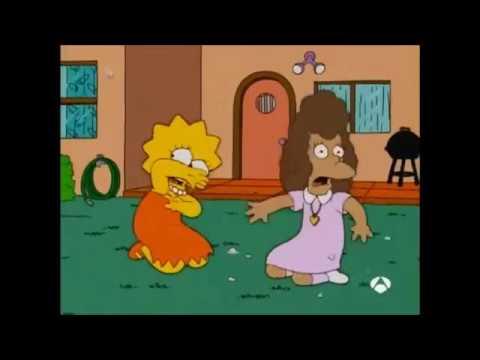 """Lisa cantando """"Pican pican los mosquitos"""""""