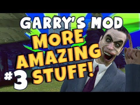 Garrys Mod - More Amazing Stuff Part 3 - Bath Time with Sips