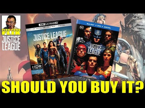 JUSTICE LEAGUE BLURAY/DVD – BUY OR BOYCOTT FOR SNYDER CUT?