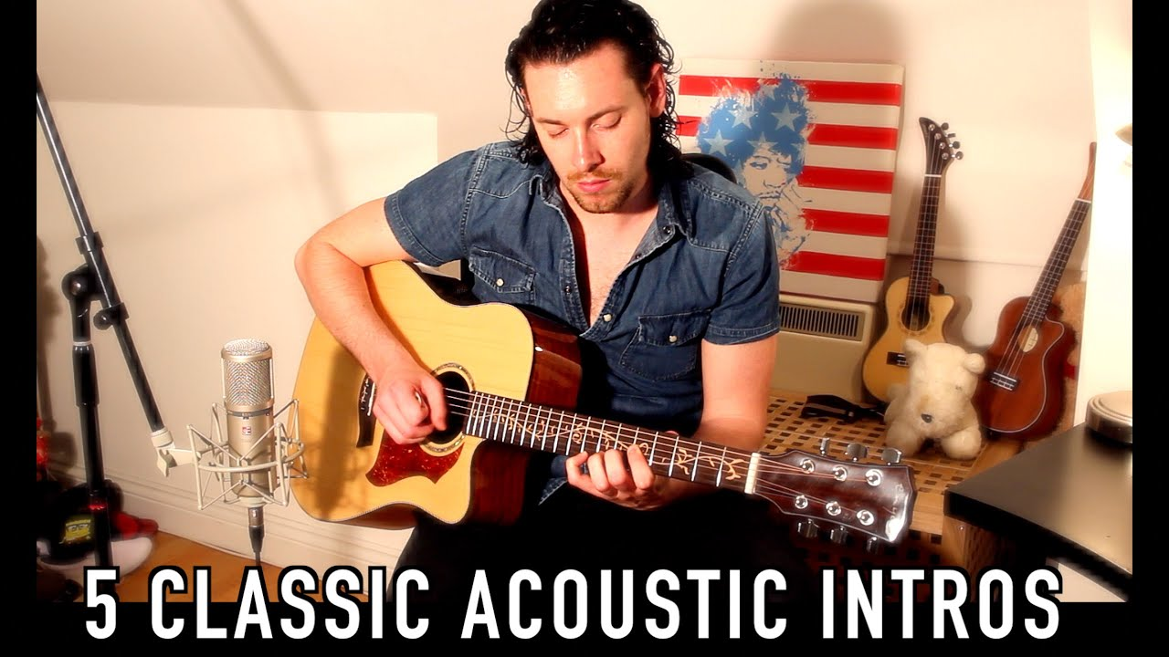 5 Classic Acoustic Guitar Intros