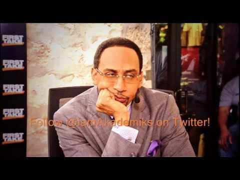 Stephen - DJ Akademiks speaks on Stephen A Smith of ESPN Apologizing for his statement on Domestic Violence. Like my Page http://www.facebook.com/iamakademiks Check out DJ Akademiks Backup Youtube: http://bi...
