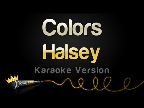 Halsey - Colors (Karaoke Version)