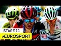 Tour de France 2018 | Stage 11 Highlights | Cycling | Eurosport