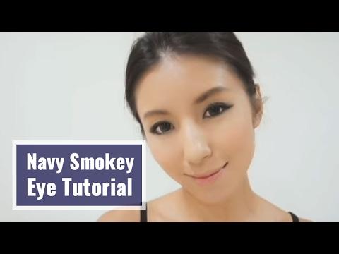 Get Ready with Nancy-深藍煙燻妝教學 Navy Smokey Eye Tutorial