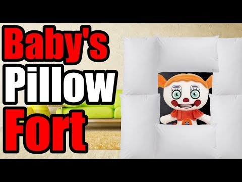 FNAF Plush - Baby's Pillow Fort
