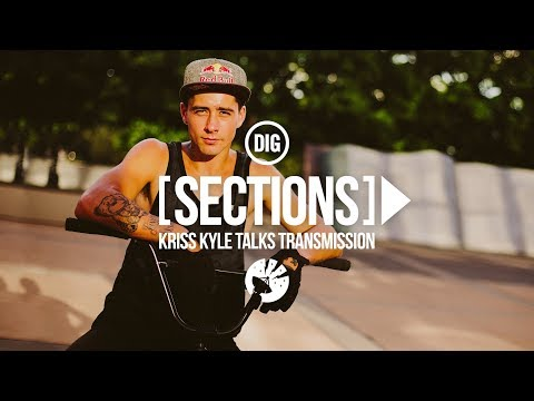 Kriss Kyle -  DIG BMX 'Sections' -  Episode 4