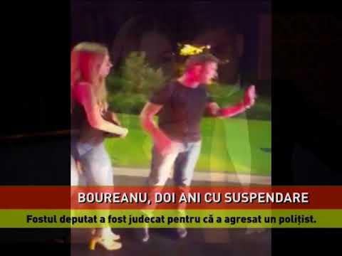 Cristian Boureanu, condamnat la doi ani şi două luni de închisoare cu suspendare pentru ultraj