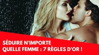 Video SÉDUIRE N'IMPORTE QUELLE FEMME : LES 7 RÈGLES D'OR !  (37/100) MP3, 3GP, MP4, WEBM, AVI, FLV September 2017