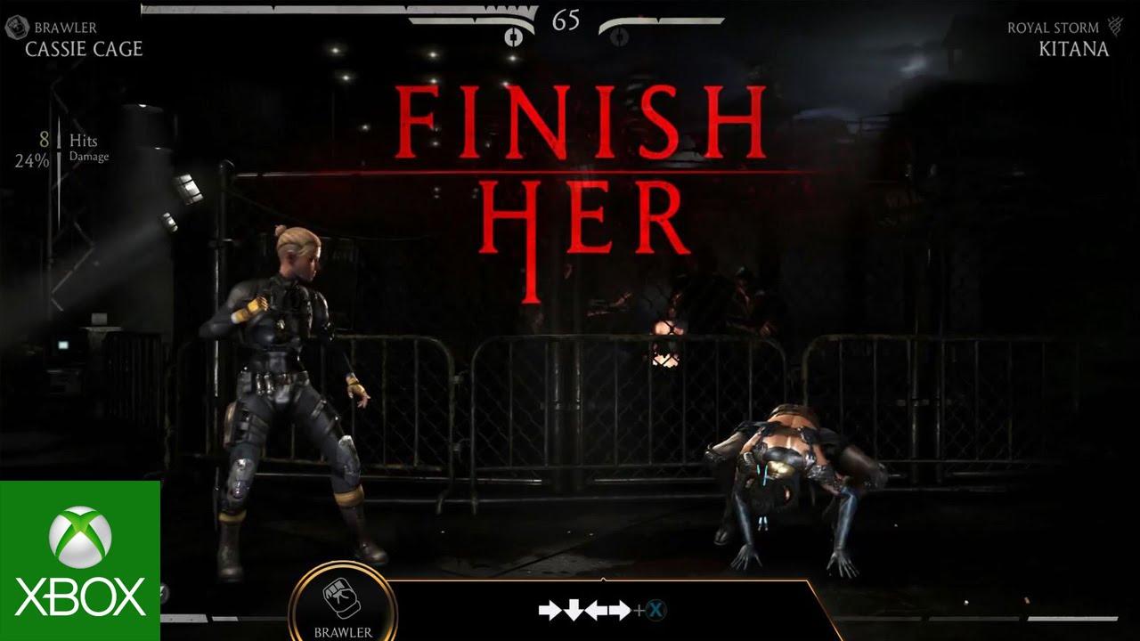 Mortal Kombat X Kombat Class: Cassie Cage