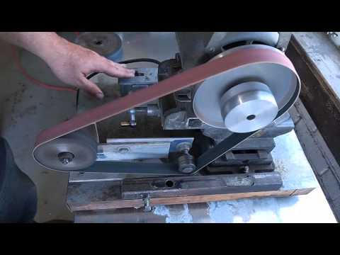 Small Belt Grinder Overview