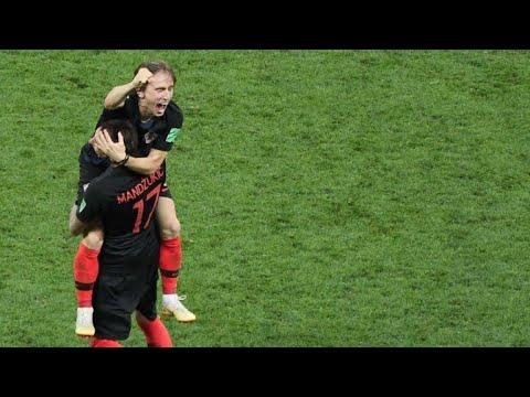 Croácia elimina Inglaterra e faz final contra França