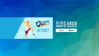IFSC Youth World Championships - Arco 2019 - LEAD - Finals 1 - Highlights by International Federation of Sport Climbing
