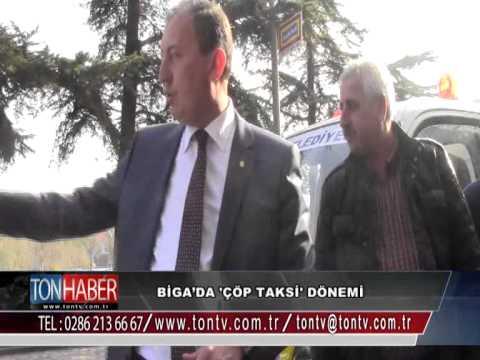 "Biga'da ""Alo Çöp Taksi"" Hizmete Girdi"