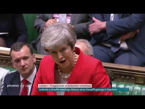 Fragestunde im britischen Unterhaus zum Brexit am 27. ...