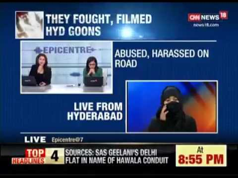 Hyderabad innocent girl.interview after being harassed