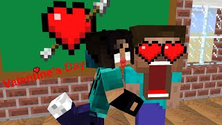 Video Monster School - Valentine's Day - Minecraft Animation MP3, 3GP, MP4, WEBM, AVI, FLV Agustus 2019