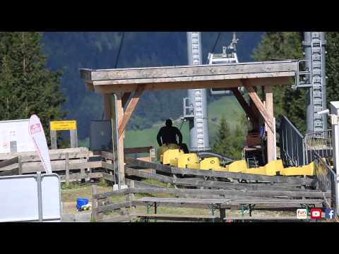 fununo präsentiert die Sommerrodelbahn der Serlesbahnen Mieders (видео)