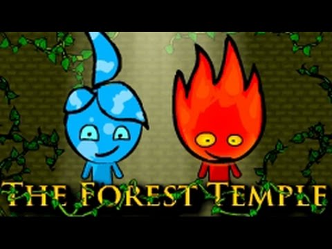 Fireboy and watergilrl crystal temple full walkthrough
