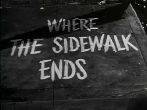 Where The Sidewalk Ends (1950) trailer