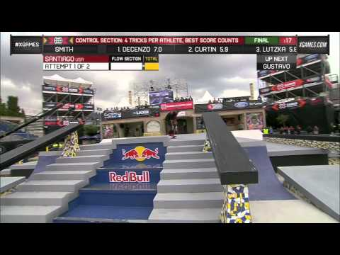 select - Manny Santiago advances to Street League Series eliminations at X Games Barcelona 2013.
