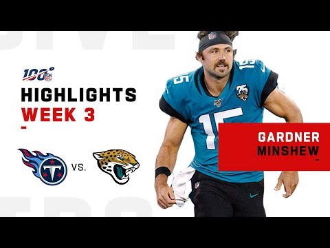Gardner Minshew Leads Jags First Win | NFL 2019 Highlights