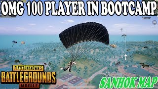 Video OMG 😱 100 PLAYERS IN BOOTCAMP SANHOK MAP BIG FIGHT | SARE LOG BOOT CAMP AA JAO | PUBG MOBILE SANHOK MP3, 3GP, MP4, WEBM, AVI, FLV November 2018