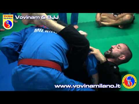 Vovinam & Brazilan Jiu Jitsu - Clip 1 of 3