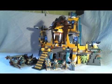 LEGO Legends of Chima Video Review : The Lion CHI Temple (2/2) [Français]