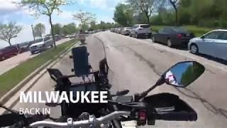 4. Quick rip on the Yamaha Super Tenere through Milwaukee