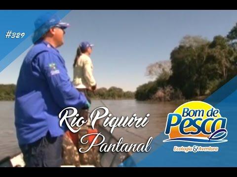 Programa Bom de Pesca - Rio Piquiri - Pousada Nova Alvorada