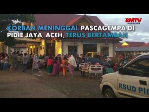 Korban Gempa Makin Bertambah, Pencarian Terus Dilakukan