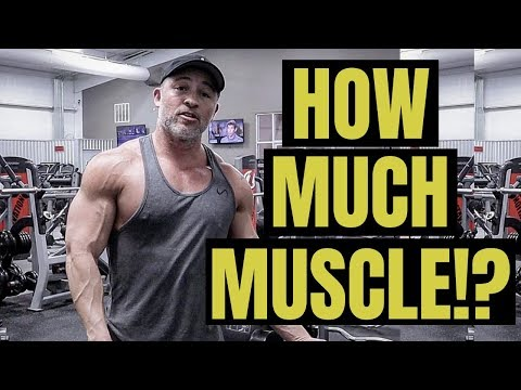How Much Muscle Can I Gain In A Month - TRUTH REVEALED!