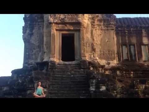 Health Hints From Around The Globe: Meditation At Angkor Wat Temple &  in Siem Reap, Cambodia.