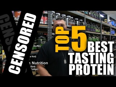 tasting - www.IllPumpYouUp.com Tim Muriello, Fitness and Supplement Expert for I'llPumpYouUp.com, candidly speaks about the top 5 best tasting proteins that he has tri...