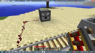 Minecraft Beta 1.5 Update Test Drive - Booster Rails & Detector Rails