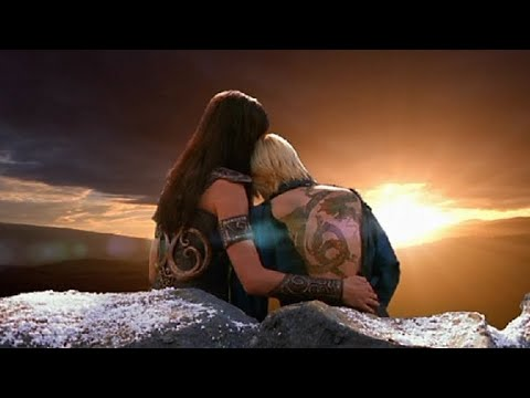 Moments of love between Xena and Gabrielle
