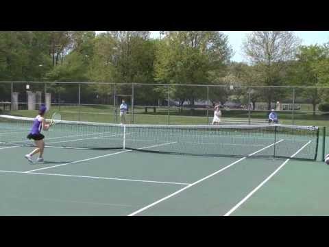 Women's Tennis Takes on Scranton in Landmark Conference Semifinals